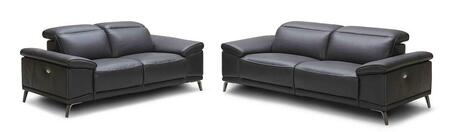 Giovani Collection 18220-SL 2-Piece Living Room Set with Reclining Sofa and Loveseta in