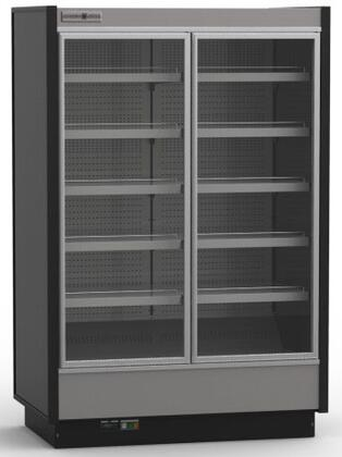 KGVMD2R High Volume Grab-N-Go Case with 2 Doors  37.63 cu. ft. Capacity  3445 Cooling BTU  Remote Condensing Unit  in