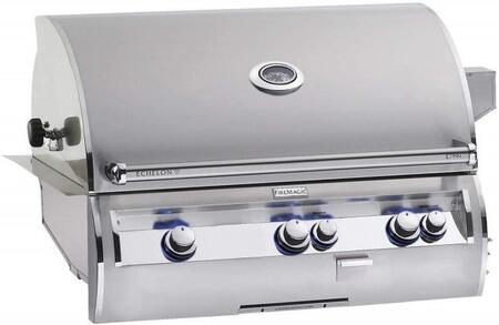 E790I4-LAN Echelon Diamond Series Built-In Gas Grill with Hot Surface Ignition  Left Infrared Searing Burner  Rotisserie Backburner  792 Sq. In. Cooking Area
