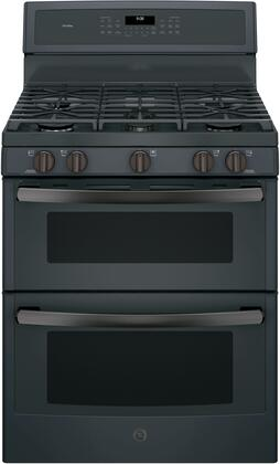 PGB960FEJDS 30 inch  Freestanding Double Oven Gas Range with 6.8 cu. ft. Total Capacity  5 Burners  Convection  Self-Clean  Grill/Griddle  and Star-K Certified  in