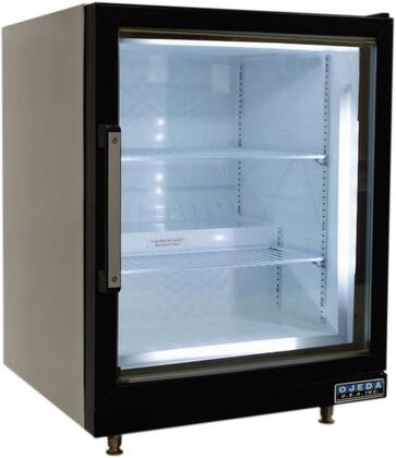 CT90 Countertop Display Freezer with Steel Construction  LED Lighting and Low-E Double Pane Tempered Thermal Glass Door  in