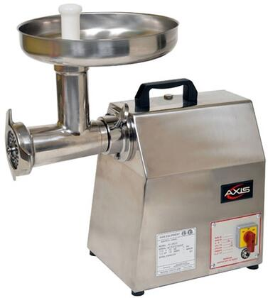 AXMG22 Meat Grinder with Blade Speed of 170 RPM  Forward and Reverse Switch  Compact Size  in Stainless