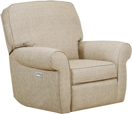 """57005P-19_Macintosh_Sage_41""""_Powered_3_Way_Rocker_Recliner_with_Rolled_Arms_and_USB_Charging_Port_in_Tan"""