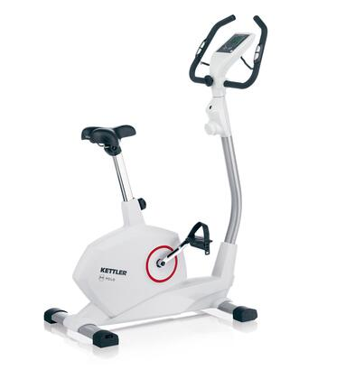 7664-000 POLO M Upright Exercise Bike with LCD Computer Display  Heart Rate Monitor and 10 Variable Resistance