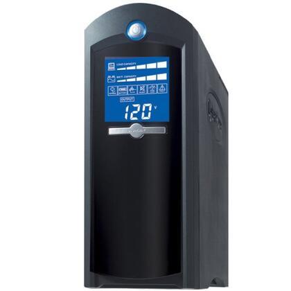 CP1500AVRLCD UPS - LCD Display 1500VA/900W AVR 8-Outlet RJ11/RJ45/Coax Tower
