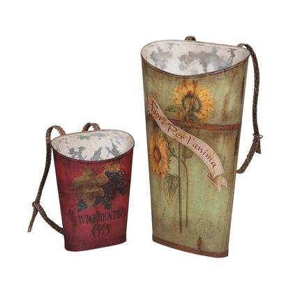 203524S Tin Wine Baskets  Original