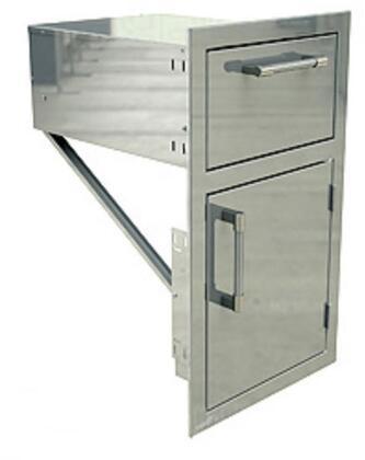 AXEDDRR 17 inch  Drawer with Door Open