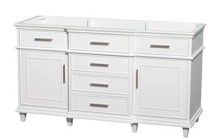 Wcv171760swhcxsxxmxx 60 In. Single Bathroom Vanity In White With No Countertop  No Sink  No