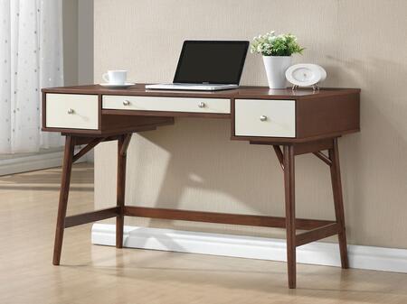 92140 Daniel 47 inch  Desk in Walnut and