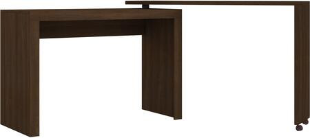 Calabria Collection 33AMC49 47 inch  Nested L-Shaped Desk with 2 Casters in