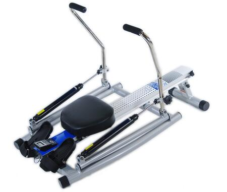 35-1215 Orbital Rower with Free Motion Arms  Hydraulic Cylinder Resistance  Adjustable Tension Controls  Foam Grip Handles and Monitor