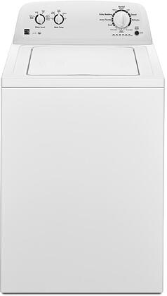 20232 28 Top Load Washer with 3.5 cu. ft. Capacity  11 Wash Cycles  700 RPM Spin Speed and Dual Action Agitator in