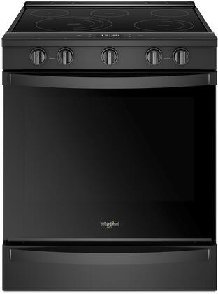 WEE750H0HB Smoothtop Range with 6.4 cu. ft. Capacity  True Convection  5 Burners  Wifi and Aqualife in