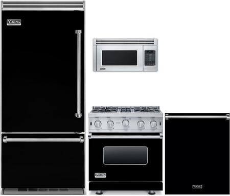 5 Piece Kitchen Appliance Package with 30
