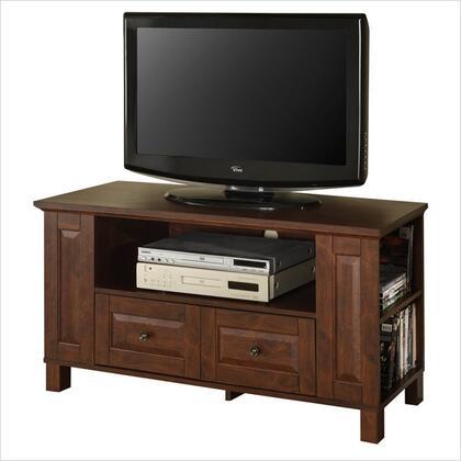 WQ44CMPTB 44 Brown Wood TV Stand