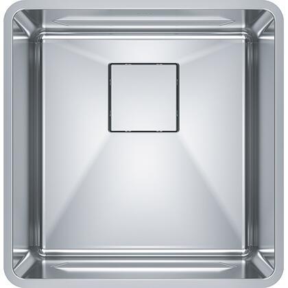 PTX110-17 Pescara 17 3/4 inch  Single Bowl Undermount Stainless Steel Kitchen