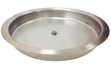 SS-RSP-19 19 inch   Stainless Steel Round Drop-in Fire Pit