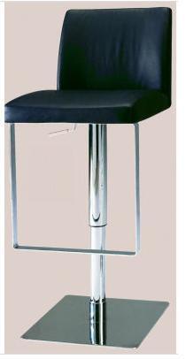 0813-AS-BLK Pneumatic Gas Lift Adjustable Height Swivel