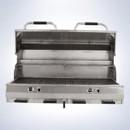 8800EC1056IMD48 48 inch  8800 Series Built-In Dual Marine Electric Grill with 1056 sq. in. Cooking Surface  Warming Rack  Removable Grease Trays  Timer  and