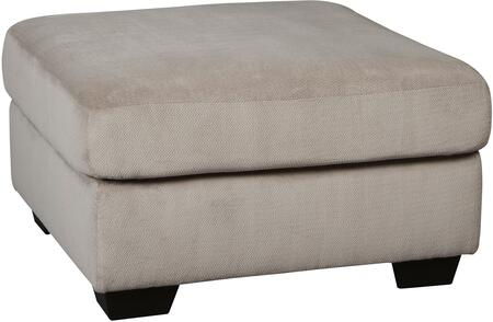 "Dailey Collection 9540108 33"""" Oversized Accent Ottoman with Fabric Upholstery  Block Feet and Contemporary Style in"" 693015"