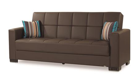 Armada Collection ARMADA SOFA #16 BROWN PU 27-448 88
