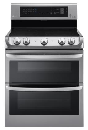 LG LDE4415ST 30 Stainless Steel Electric Smoothtop Double Oven Range
