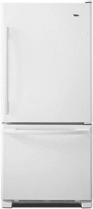 Amana 18.6 Cu. Ft. Bottom-Freezer Refrigerator White ABB1924BRW