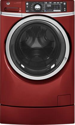 GFW490RPKRR 28 Front Load Washer with 4.9 cu. ft. Capacity  RightHeight Design and Steam Cycle  in Ruby