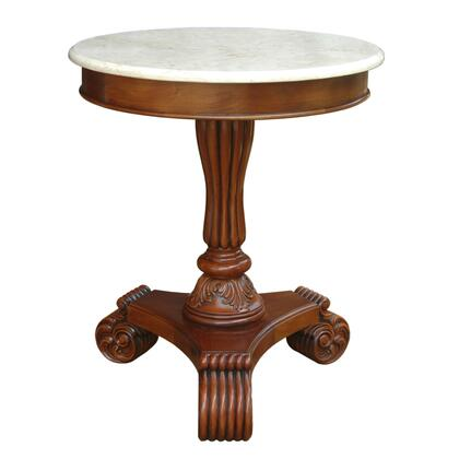ST-139M Bella Side Table W/ Marble