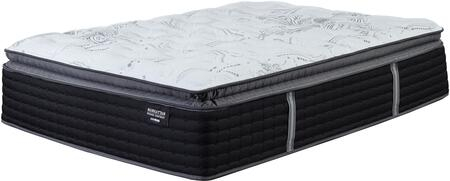 Manhattan Design District Plush PT Collection M82941 17 inch  Thick King Size Mattress with Pillow Top Layer  Three Layers of High-Density Foam and a Layer of Plush