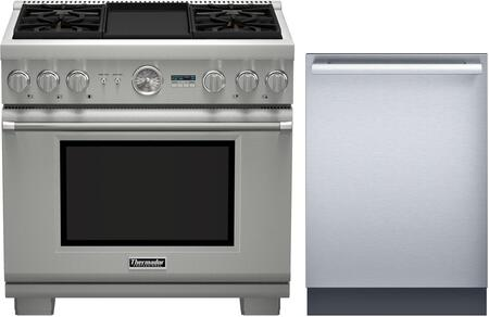 2 Piece Stainless Steel Kitchen Package With