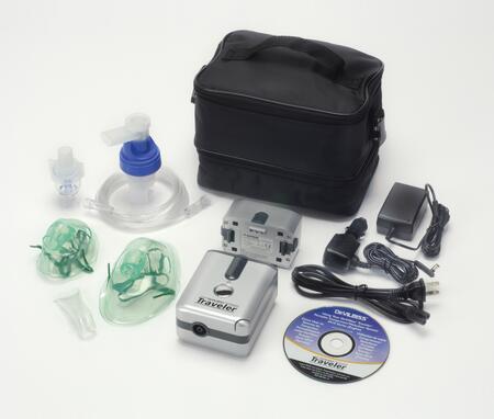 6910p-dr Traveler Portable Compressor Nebulizer System With