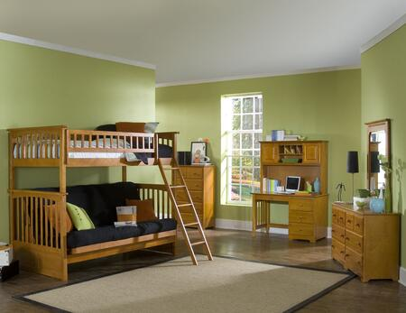 COLTFUCL Caramel Latte Columbia Twin Over Futon