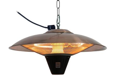 62222 Gunnison Brushed Copper Colored Hanging Halogen Patio