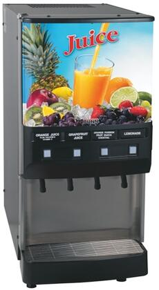 37300.0000 JDF-4S 4 Flavor Cold Beverage System With Push-Button  Portion Control  Quick Dispense  Door Lock Standard  18lbs Ice Bank  in
