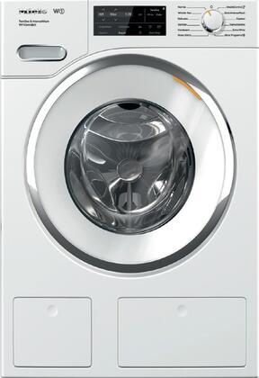 """WWH860WCS 24"""""""" Front Load Washer with QuickIntenseWash  TwinDos  WiFi Conn@ct  2.26 cu. ft. Capacity  1600 RPM Spin Speed  and Honeycomb Drum  in"""" 889531"""