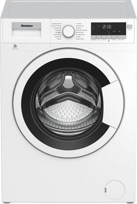 """WM98200SX2 24"""""""" Front Load Washer with 2.5 cu. ft. Capacity  1 400 RPM  16 Wash Cycles and Energy Star Qualified in"""" 955629"""