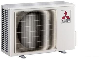 PUYA24NHA4 38 inch  Mini Split Outdoor Condenser Unit with 24 000 BTU Cooling Capacity  48 dBA Noise Level  DC Inverter-driven Twin Rotary  and 230/208 Volts  in