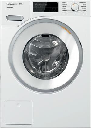 """WWF060WCS 24"""""""" Front Load Washer with WiFiConnect  2.26 cu. ft. Capacity  1600 RPM Spin Speed  and Honeycomb Drum  in"""" 889533"""