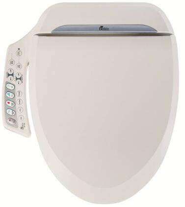 BB-600SW Ultimate Series Advanced Bidet Round Front Toilet Seat with Dual Nozzle with Warm Air Dry  Massage Cleaning  Gentle Aerated Water Stream and External