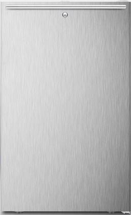 FF511LADAL7SSHHADA 20 inch  ADA Compliant  Commercially Approved  Medical Compact Refrigerator with 4.1 cu. ft. Capacity  Crisper  Automatic Defrost and Door Lock:
