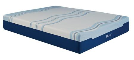 Imgell5013ek King Lane Contour Lux Vi Liquid Gel Memory Foam 13 Mattress White And Blue Memory Foam And Gel Memory