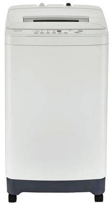 Haier HLPW028BXW Portable Washer with 2.1 cu. ft. Capacity 6 Washing Cycle Adjustable Leveling Legs Lift