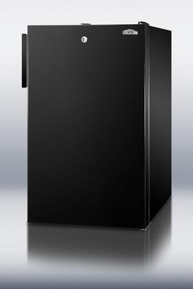 SWC525LBIDS series features 20 wide solid door wine cellars designed for built-in use under counters  Top-mounted for convenient security  and in