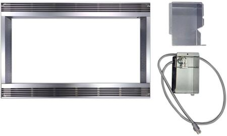 RK51S27 Built-in Microwave Trim Kit for 1.8 & 2.0 cu. ft. Countertop Models: 27 Inch Stainless