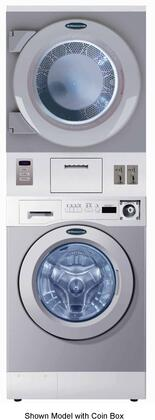 "WDSGC 27"" Energy Star Rated Stacked Washer and Gas Dryer with 3.5 cu. ft. Washer Capacity  7.5 cu. ft. Dryer Capacity  4 Wash Programs  45 RPM Wash Speed  50"