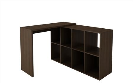 "Taranto Collection 79AMC49 42"" Cubby Desk with 8 Cubbies and Desk Space in"