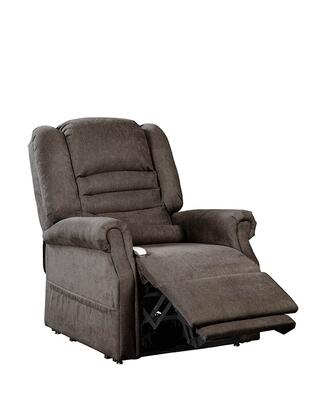 Serene NM1850-CHF-A11 33 inch  Power Recliner Lift Chair with Infinite Position Mechanism  Chaise Pad and Sinuous Spring and Foam Seat in