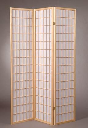 5034-NT Shoji Style 70.5 x 51 3 Panel Room