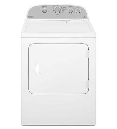 WHIRLPOOL WGD4985EW 5.9 cu. ft. Top Load Gas Dryer with Flat Back Design